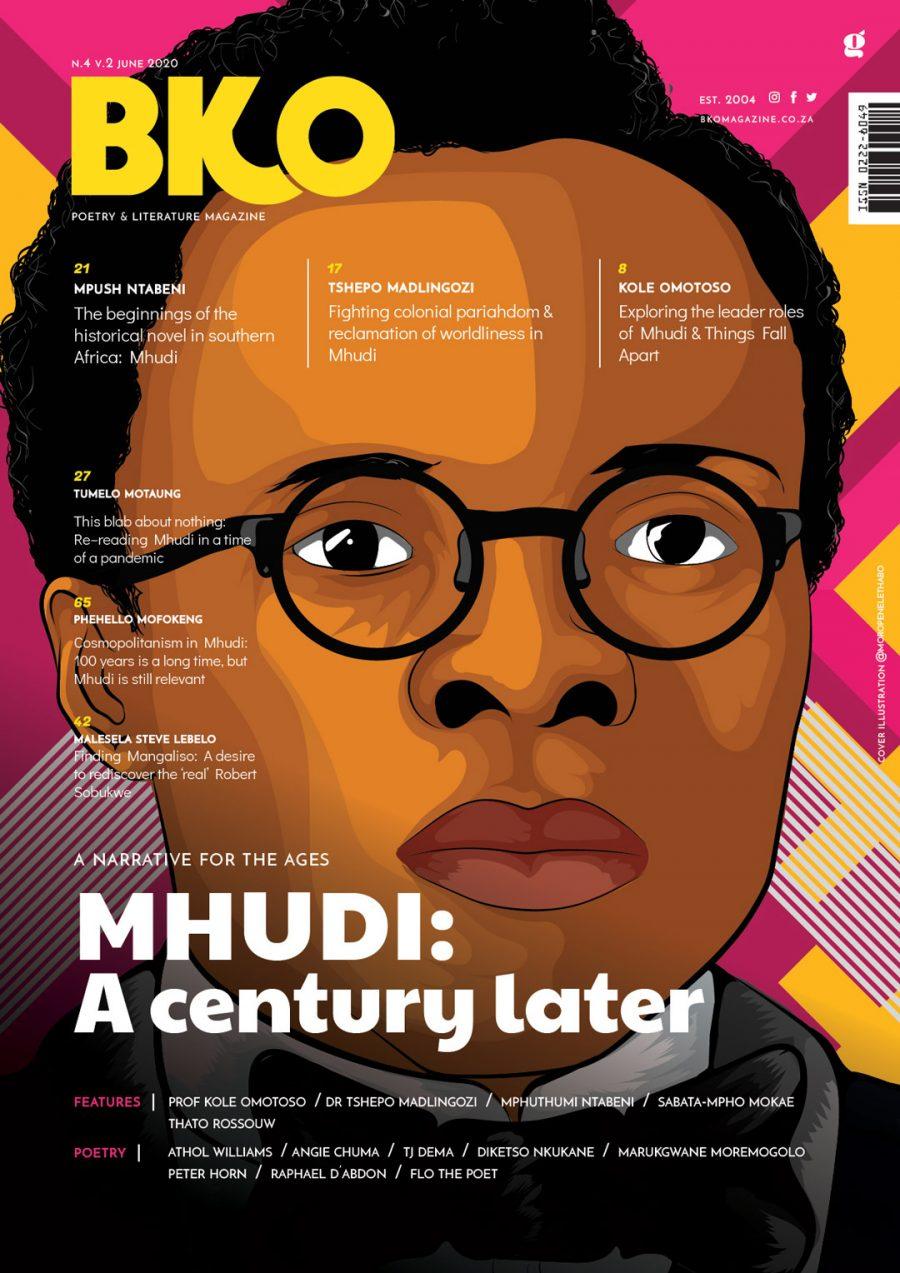 BKO Magazine No 2 Vol 4 - Mhudi: A Century Later